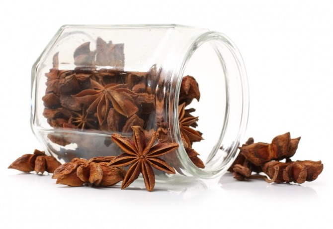 Star anise for the magic Christmas