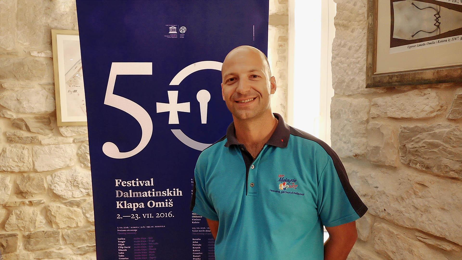 50. Festival dalmatinskih klapa Omiš 2016