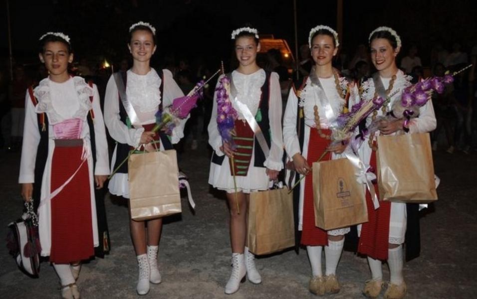 Nova MISS Antonela Omrčen na Brnaškom derneku (2011.)