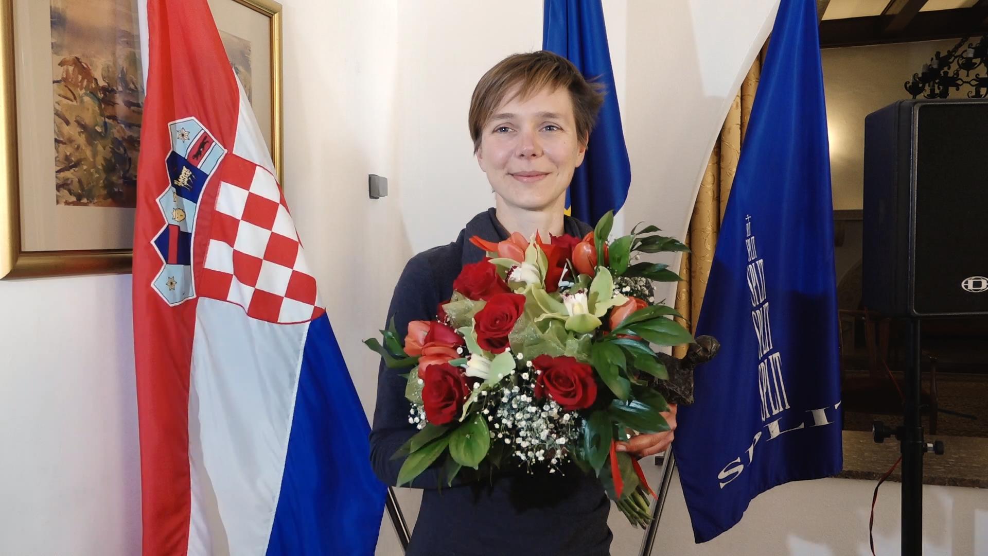 Ivana Buklijaš - Splitski cvit: Hvala gospođi Mratinić na upornosti i...