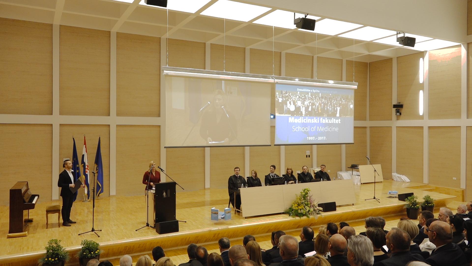 Svečanost na Medicinskom fakultetu u Splitu