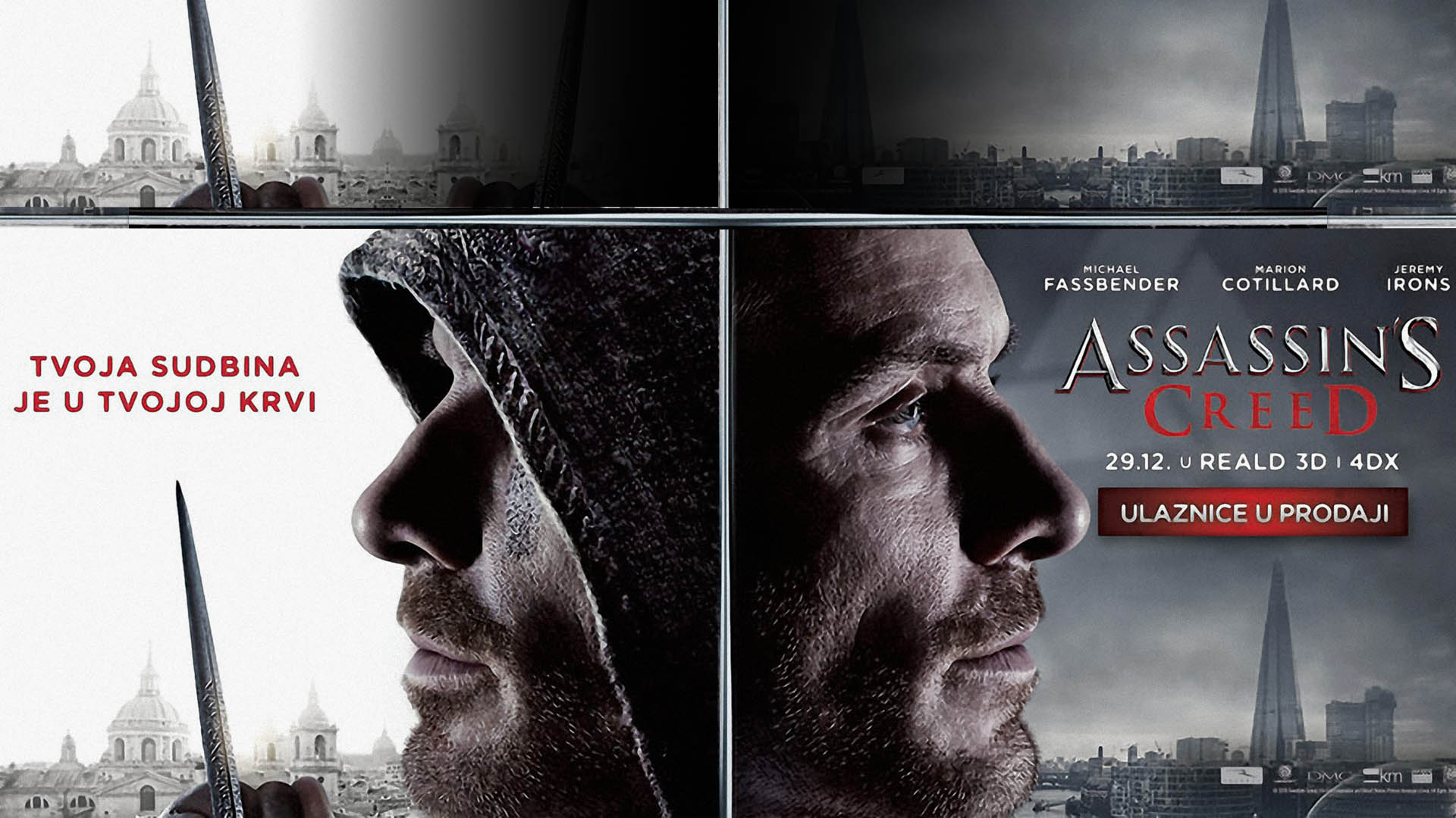 Krenula je prodaja ulaznica za film ASSASSINS'S CREED