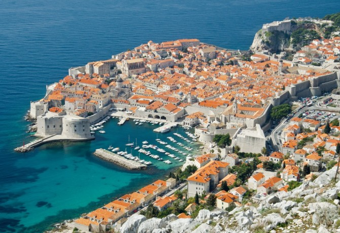 Dubrovnik sights – Old City, St. Lawrence Fortress, Saint Blaise Church and Orlando's Column