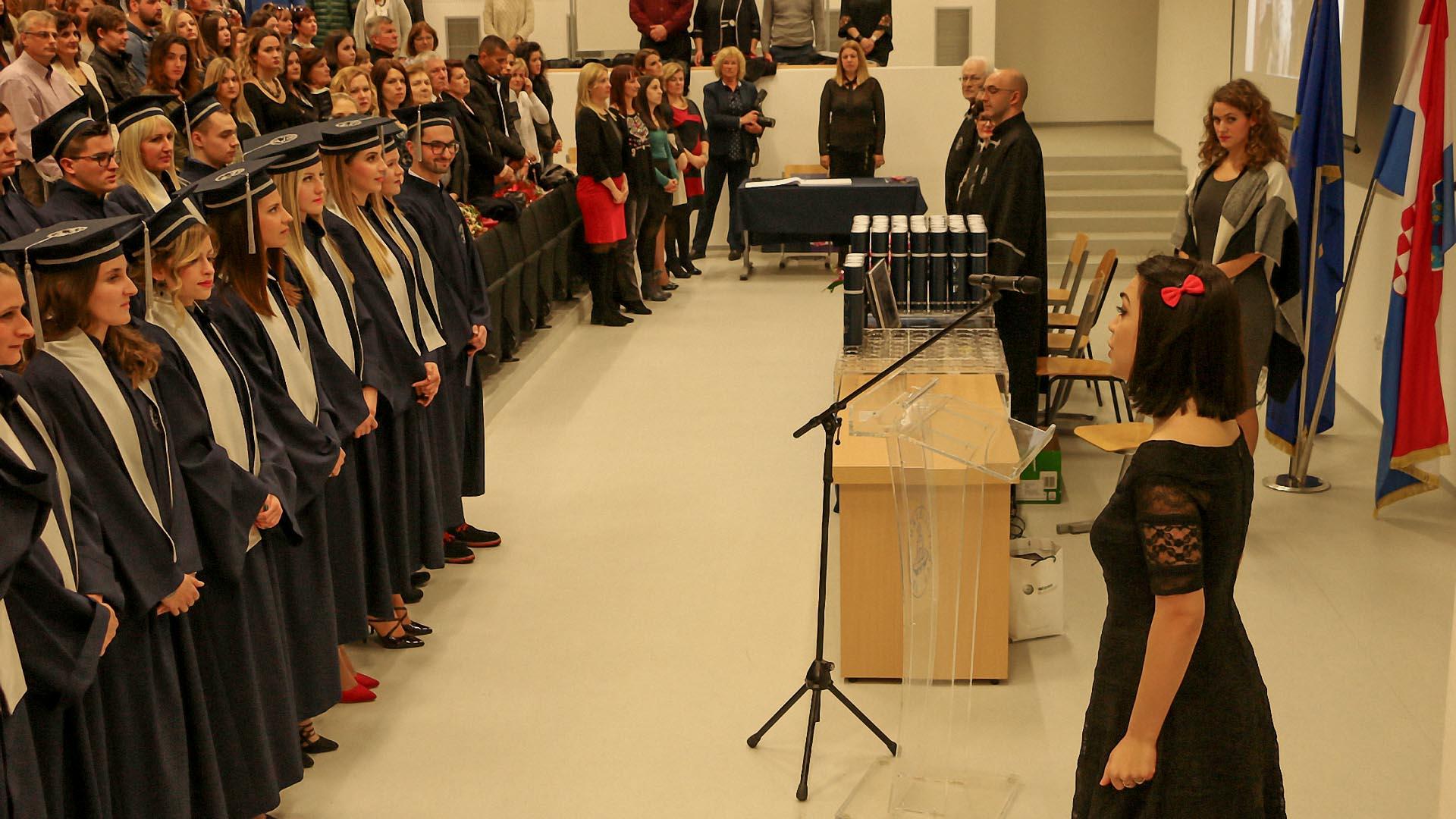 Održane svečane promocije na Sveučilišnom odjelu zdravstvenih studija