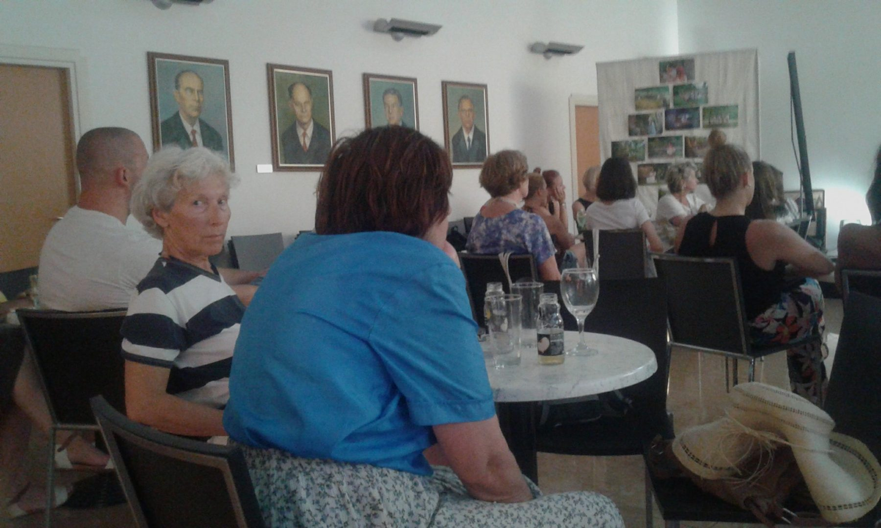Izložba i predavanje na temu Poljičke vile...bilo je ugodno i lijepo