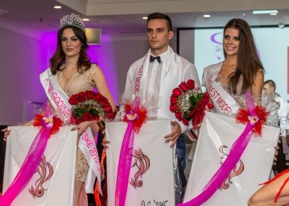 The splendor of beauty at The Face of the Year and The Best Model of Croatia 2015