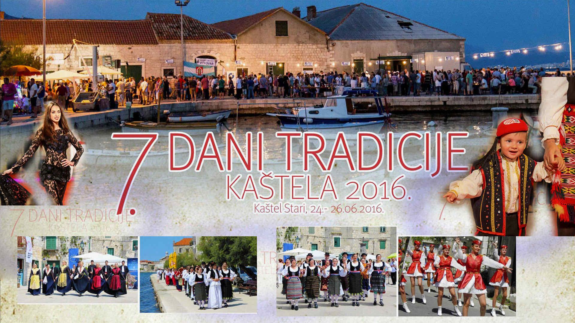 7. Dani tradicije - Kaštela 2016.