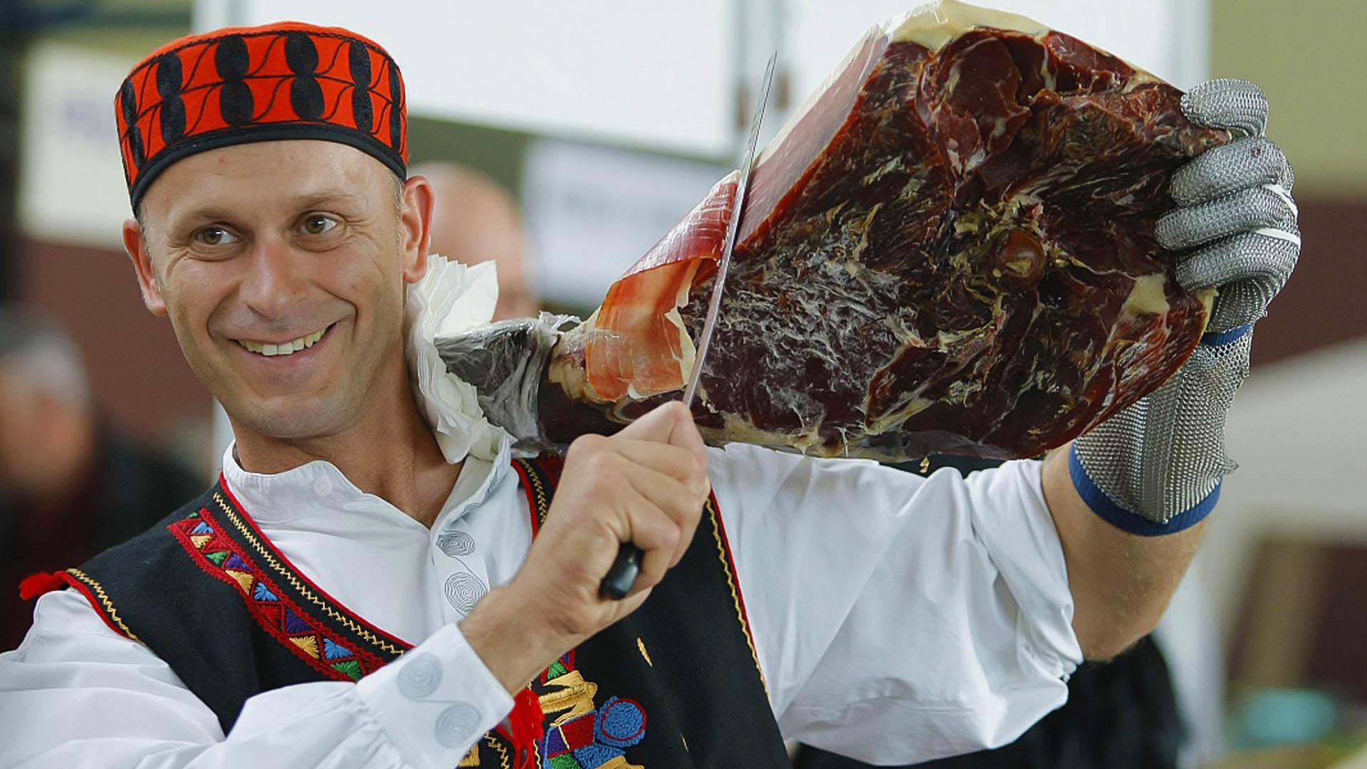 festival pršuta u Drnišu