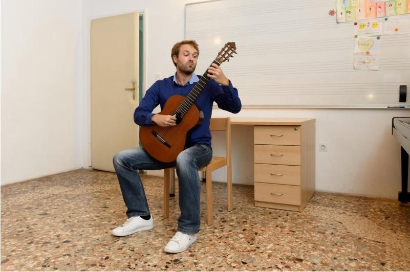 Gitarist Petar Čulić