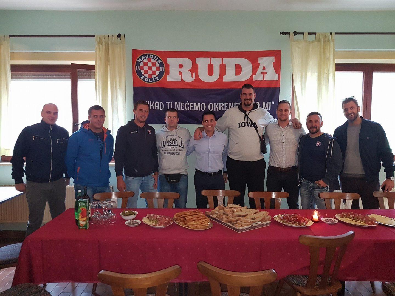 Navijači Hajduka RUDA