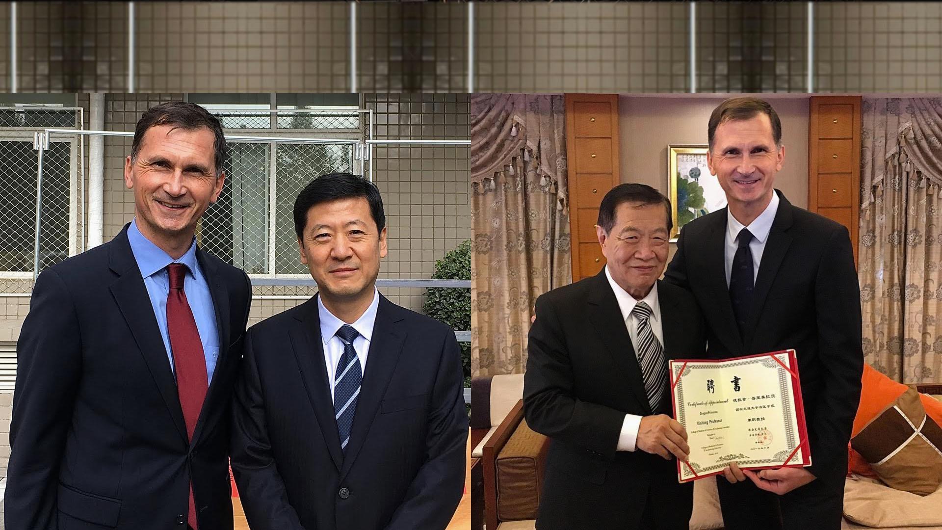 Dragan Primorac u radnoj posjeti Kini