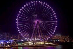 Pogledajte najveći panoramski kotač na svijetu koji se uskoro otvara u Dubaiju