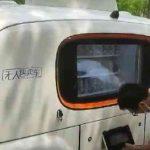 Autonomni pokretni dućani bez vozača na ulicama kineskog grada