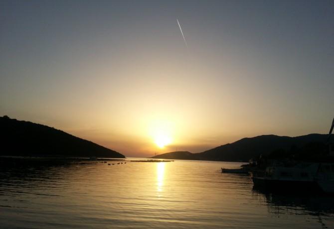 Biljana iz Mostara zalazak sunca