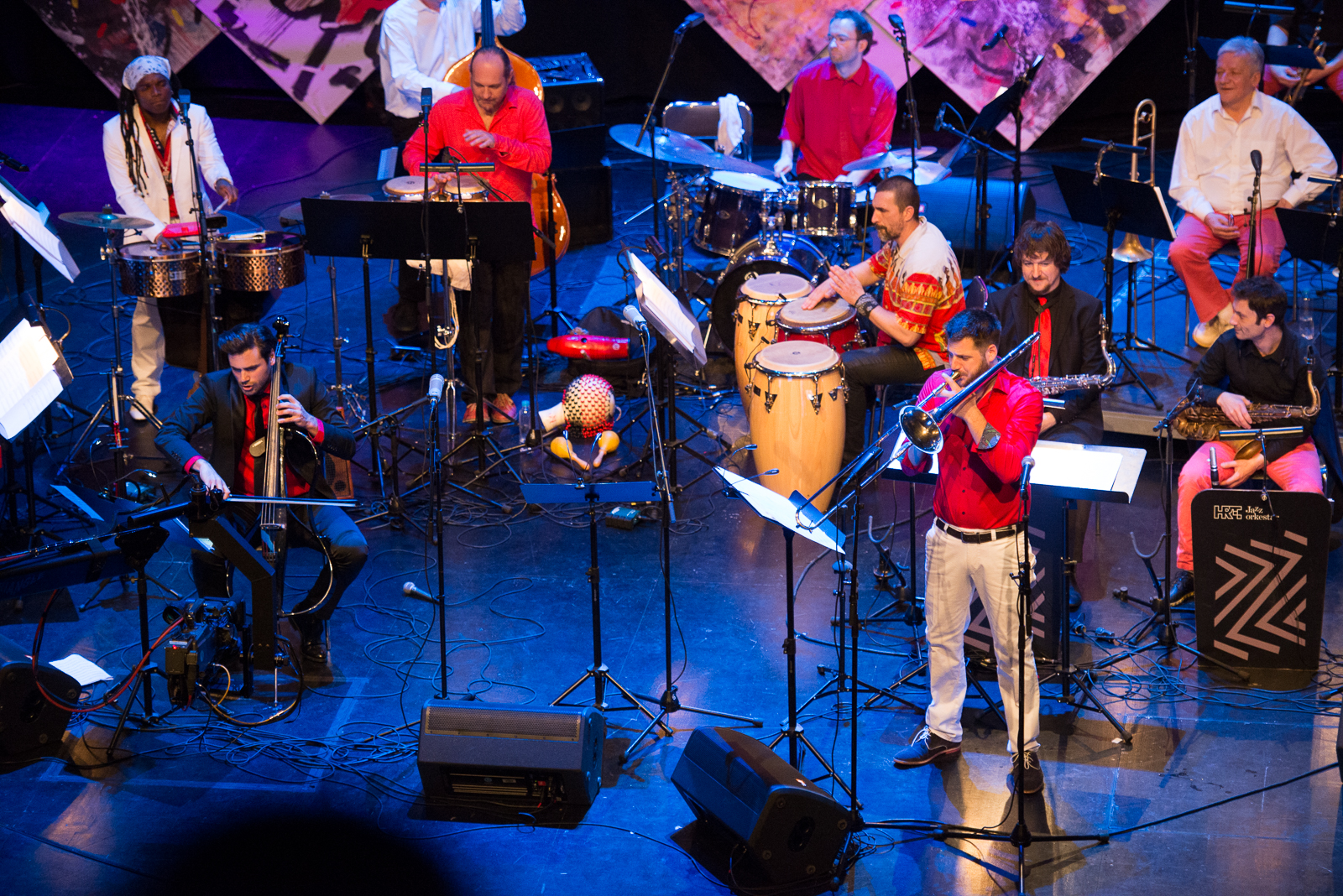 Jazz orkestar HRT - a za VALENTINOVO I SALSA PARTY za karneval u ZADRU!