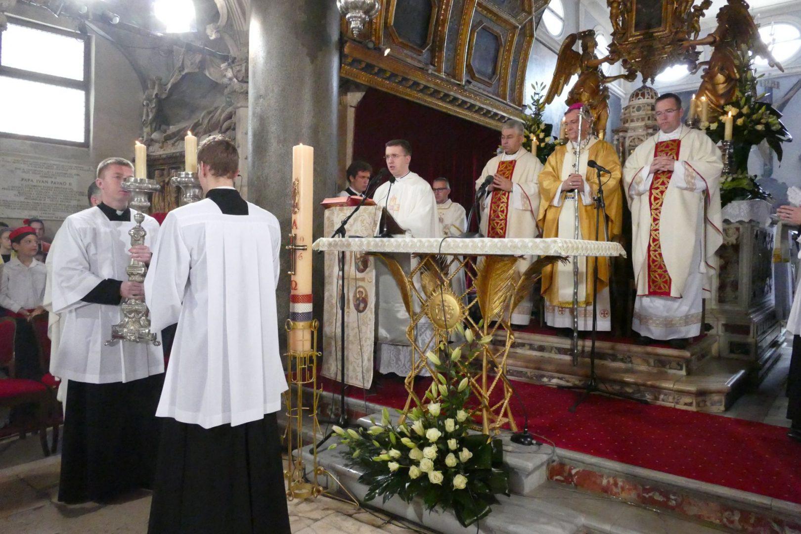 Božićno slavlje u splitskoj katedrali