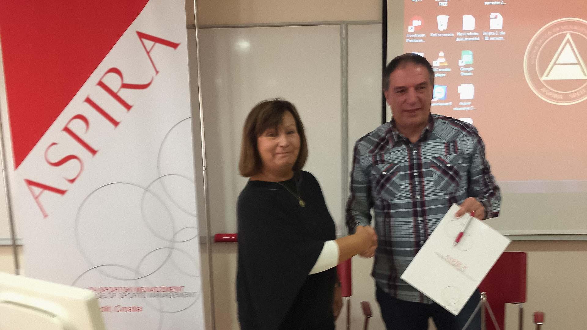 Mnk Split Tommy i Aspira, sporazumna suradnja