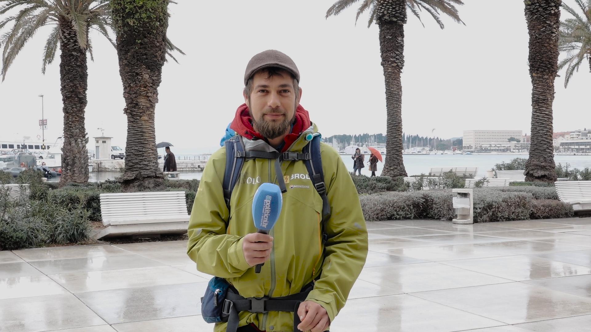 Goran Blažević hodajući iz Jordana došao u Hrvatsku