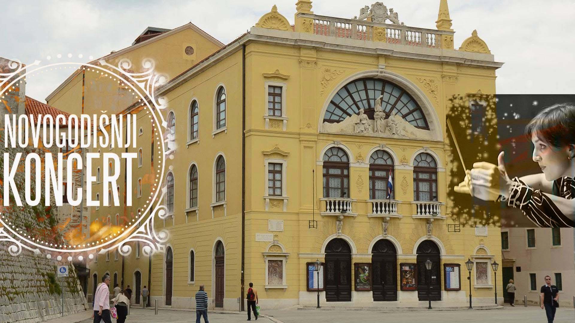 Dođite večeras na novogodišnji koncert Orkestra HNK Split