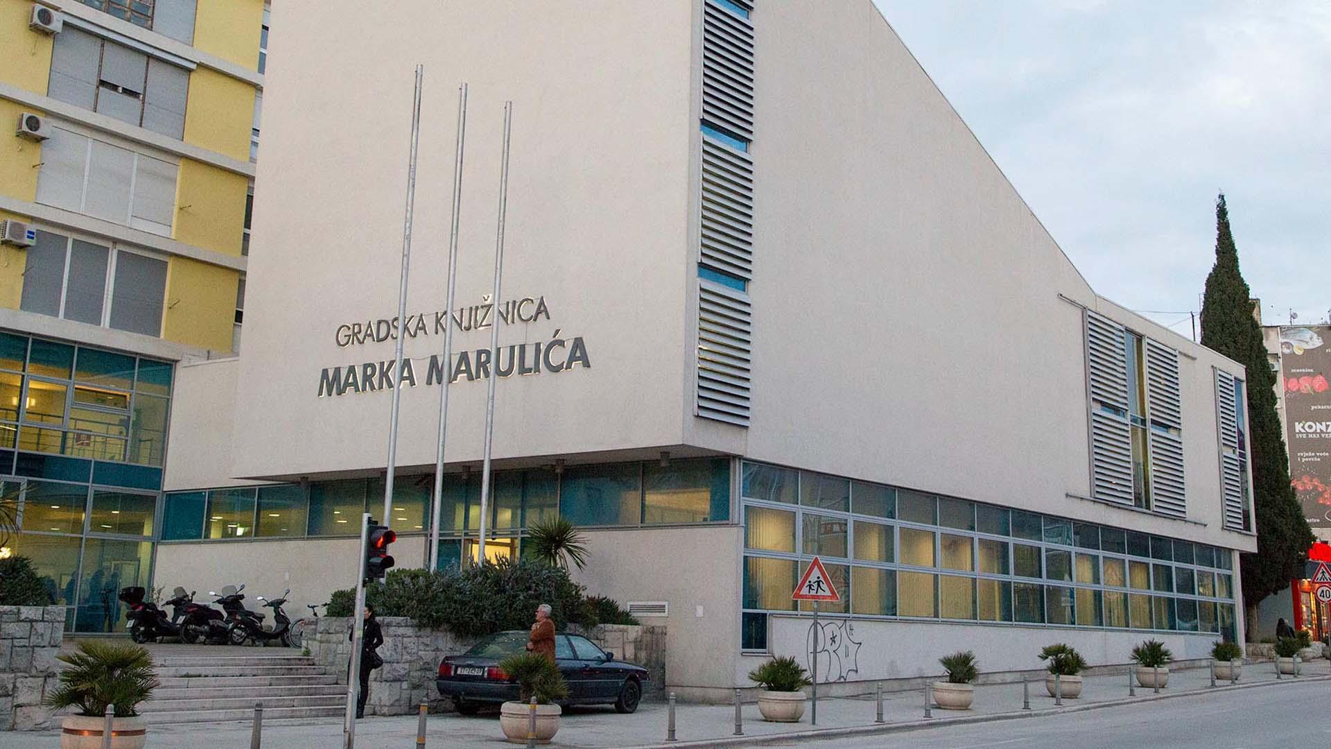 Tjedni program u knjižnici Marka Marulića