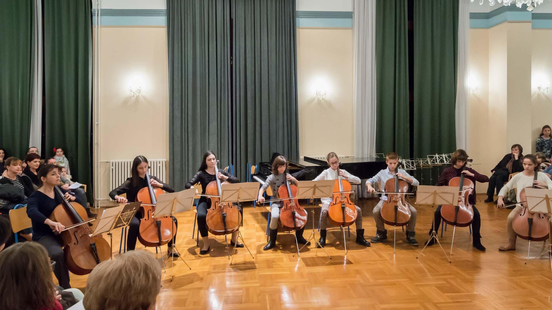 Dođite na koncert ansambala Glazbene škole Blagoje Bersa Zadar