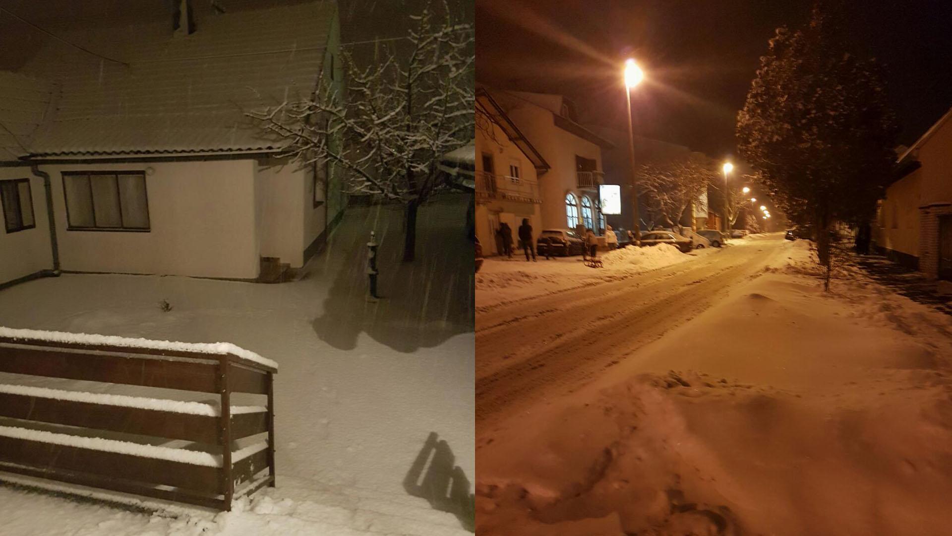 Snijeg i dalje pada , donosimo prognozu do vikenda, neki će se grijati na +14