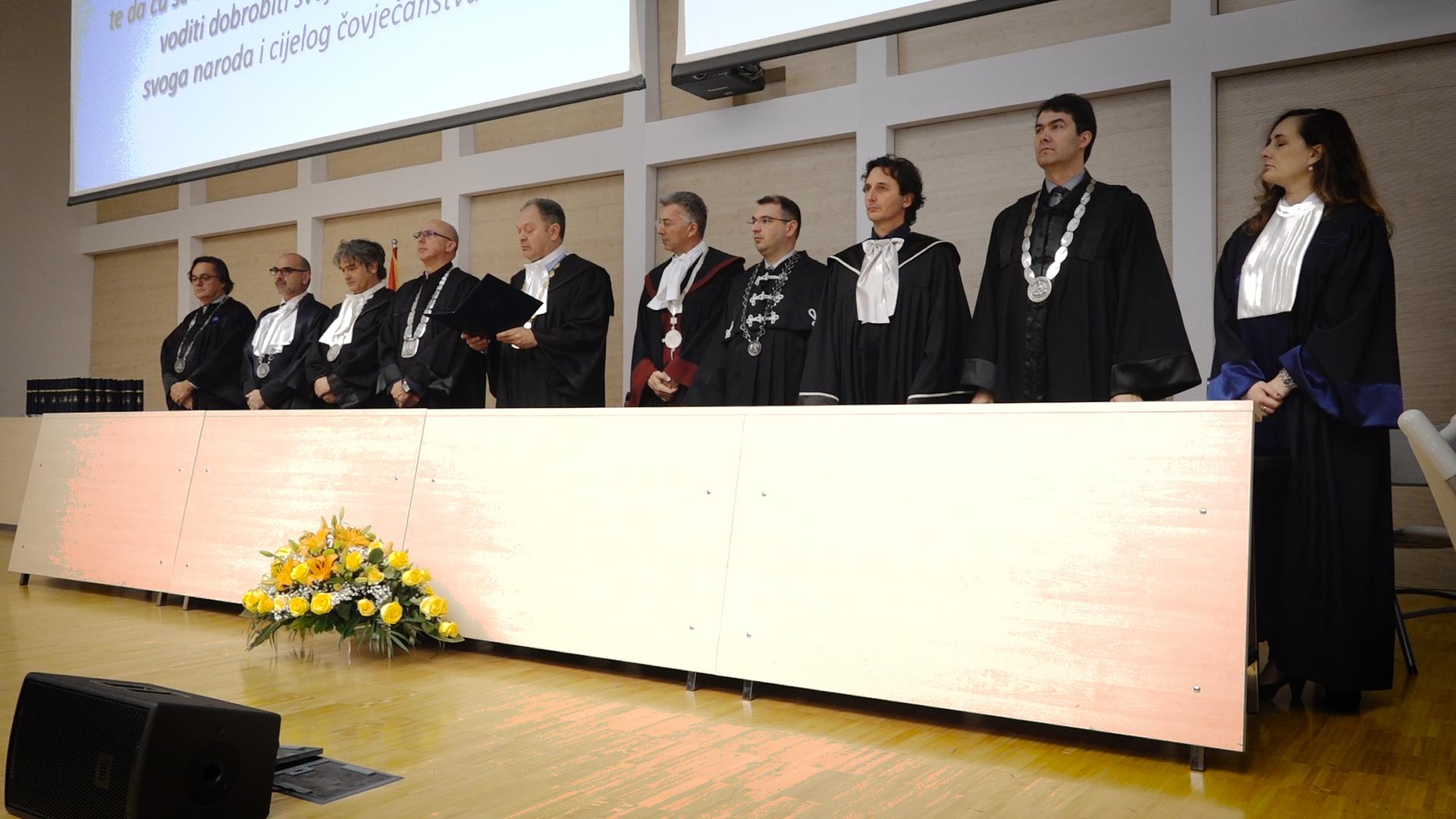 Svečana sjednica Fakultetskog vijeća povodom 20. godišnjice Medicinskoga fakulteta u Splitu