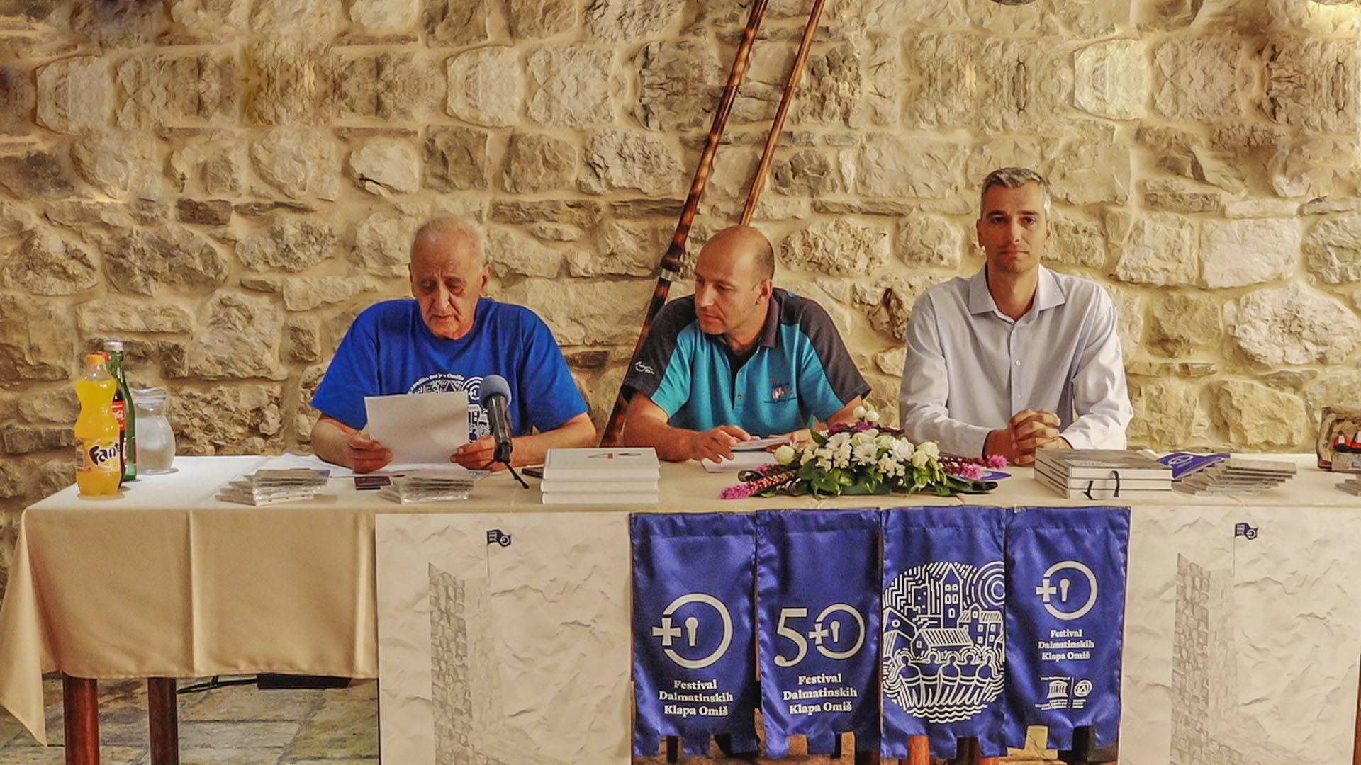 Prijave klapa za 51. Festival dalmatinskih klapa