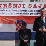 Župan Ževrnja sa zadovoljstvom o Sajmu hrvatskih branitelja