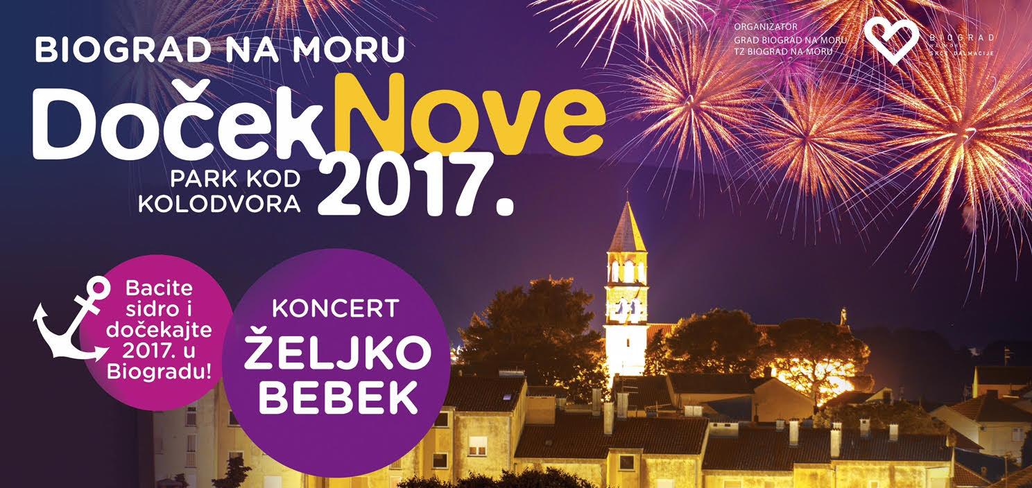 Željko Bebek i Biograd na Moru zajedno ulaze u 2017. godinu!