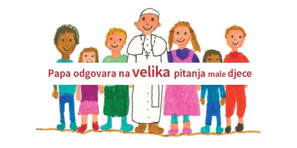 "Predstavljena prva knjiga pape Franje za djecu ""Draga djeco!"""